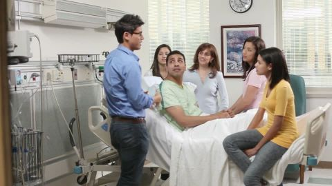 hispanics in hospital